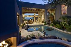 Modern Home Design Interior 2012 Interior And Exterior, Interior Design, Construction Cost, Scottsdale Arizona, Log Homes, Modern House Design, Luxury Living, Future House, Outdoor Spaces