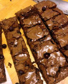 Saskatoon Berry Brownies