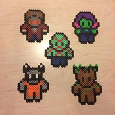 Guardians of the Galaxy Perler bead