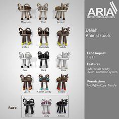 Aria :Gacha Animal Stools key