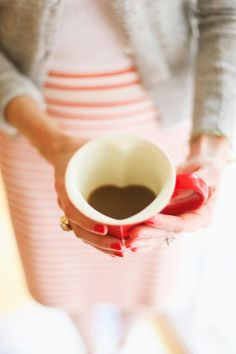 Heart shaped cup