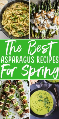 20 asparagus recipes | How to cook asparagus | what to make with asparagus | How to use up asparagus | Best asparagus Recipe | Roasted Asparagus