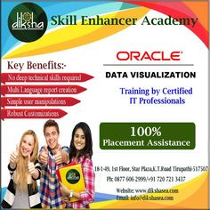 #Oracle #Data #Visualization - The Most Powerful #Visual #Analytics Tool designed to propel course delegates with quality training at #DikshaSEA