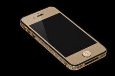 alchemist london iphone - Pesquisa Google-  não ´e um simples iPhone 5 modelo criado pelo alchemist london repleto de ouro e cravejado de diamonds, Chic! só no logo da apple foram 53!