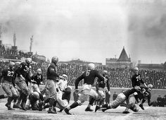 Vintage Photo: The Chicago Bears vs. the Washington Redskins, Wrigley Field, 1937