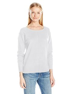 French Connection Women's Babysoft Plains Vhari, Winter White, L -- To view further, visit the image link. Amazon Affiliate Program's Ads.