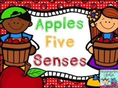 Apple Five Senses - free mini unit from Kindergarten Lifestyle