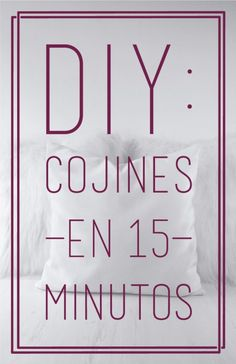 Easy sewing: Cushions in 15 minutes. Custom Closets, Sewing Material, Design Blog, Easy Sewing Projects, New Hobbies, Sewing For Beginners, Handicraft, Diy Clothes, Diy Gifts