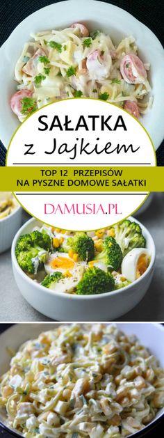 Sałatka z Jajkiem – TOP 12 Najlepszych Przepisów na Pyszne Domowe Sałatki Potato Salad, Potatoes, Meat, Chicken, Ethnic Recipes, Food, Beef, Meal, Potato