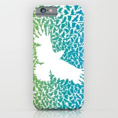 Crow from a flock of flying crows iPhone Case by vladimirceresnak Flocking, Crow, Iphone Cases, Raven, Crows, Iphone Case, I Phone Cases