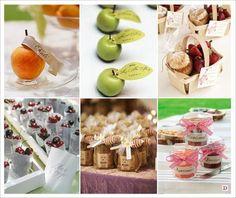 cadeaux invites mariage fruits cerise fraise confiture miel