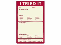 "Knock Knock brand ""I Tried It Pad""-- could be fun to use in a classroom Planner Tips, Happy Planner, Knock Knock Notes, Diy Journal Books, Funny Lists, Speech Language Therapy, Speech Pathology, Speech Therapy, Therapy Activities"