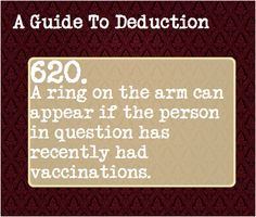 A Guide To Deduction #620