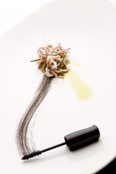 Squid and squid ink. #plating #presentation