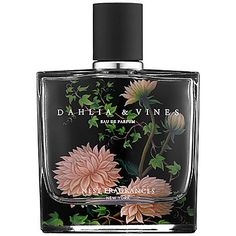 NEST Dahlia & Vines.  Notes: Bergamot, Lychee, Pink Pepper, Peony, Rose, Daffodil, Green, Vanilla, White Amber. Raspberry.  Style: Elegant. Classic. Romantic.