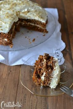carrot cake recipe (6) Greek Desserts, Greek Recipes, My Recipes, Cake Recipes, Cooking Recipes, Cake Cookies, Cupcake Cakes, Cupcakes, Greek Cake