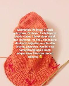 Discover thousands of images about Görüntünün olası içeriği: 1 kişi Crochet For Kids, Crochet Baby, Knit Crochet, Baby Knitting Patterns, Hand Knitting, Knitted Baby Clothes, Baby Booties, Baby Wearing, Knitting Projects