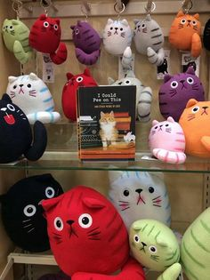 Dicke Katze plush available at Hallmarks across the U.S. Shown is from House of Cards Hallmark, Camp Hill, PA