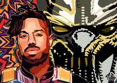 Warrior Falls Mcu Wallpaper 98 Best Killmonger Images In 2018 Black Men Black