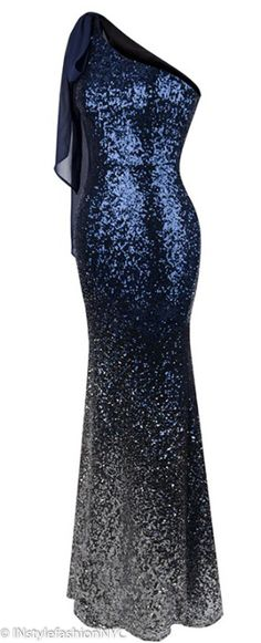 da0cea7f3fe Women s Navy Blue And Silver Sequin Dress