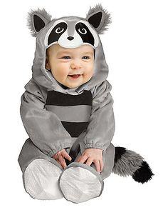 Baby Raccoon Infant Costume - Spirithalloween.com