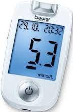 Máy đo đường huyết giá rẻ, chính hãng: Máy đo đường huyết Beurer GL40 giá rẻ