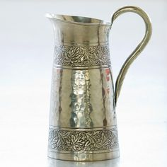 Amritsar Embossed Jug - Silver