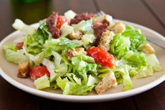 It's so easy to make Perfect Caesar Salad dressing. As the ultimate in dinner time salads the Caesar salad prepared here is truly the best of the best. Easy Green Salad Recipes, Healthy Salad Recipes, Lunch Recipes, Dinner Recipes, Caesars Salad, Easy Family Dinners, Soup And Salad, Salads, Food And Drink