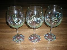 MakikisArt ~ Wonderful business; wonderful owner.  Kimmy hand paints glassware.  Custom orders.
