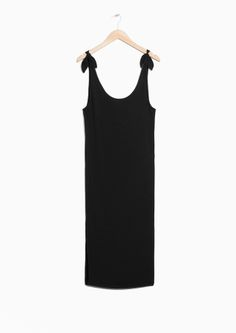 & Other Stories | Tie Shoulder Dress