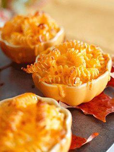 Baked Macaroni with Three Cheeses #recipe