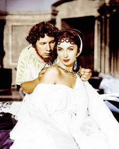 Picture of Peter Ustinov  as Nero, Patricia Laffan  as Poppaea  from Quo Vadis   High Quality Photo  C90320