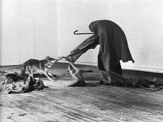 "Joseph Beuys: ""I Like America and America Likes Me""   Performance Art"