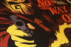 I had to make a rule for myself that prohibits me from from buying posters of movies I have not seen, shows I did not attend, music I do not own, and so on. Before I made this rule, I was buying way to much. However, it's work like Francesco Francavilla's Black Beetle for Mondo that calls my rule into question.