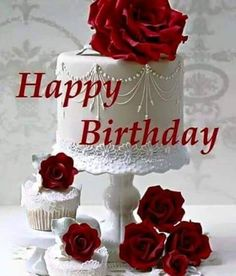 """""""The blossoming roses make me think of the wonders the heaven created, the life given was the most wonderful. Every year, it just looks much more beautiful. Smile & make a wish..."""" Happy Birthday!"""