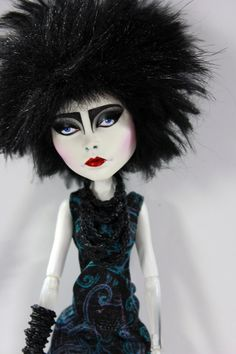 Siouxsie Tribute Doll #7 Monster High Art Doll Repaint by Refabrications