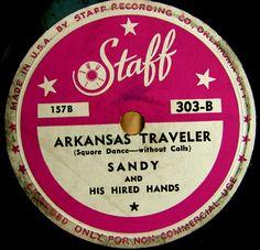 vintage record label
