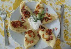 Brindzás pirohy Tacos, Mexican, Ethnic Recipes, Food, Meals, Yemek, Eten