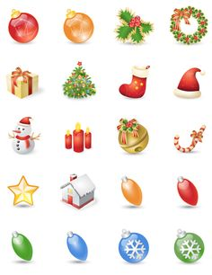 """More Exclusive Icons for the Holidays: """"Xmas Festives"""" 