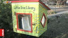 Als je iets, ongecontroleerd, mag lenen. Zoals bijvoorbeeld deze kleine bibliotheek. Kunnen we daar dan eerlijk mee omgaan of 'verdwijnen' er toch boeken?