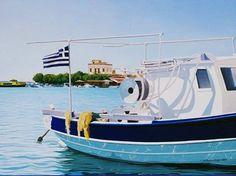''Αίγινα'' Κ.Μαυρουδάκη Boat, Vehicles, Dinghy, Boats, Car, Vehicle, Ship, Tools