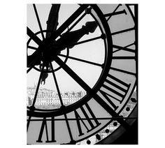 clock at musee d'orsay framed print by rebecca plotnick | Pottery Barn