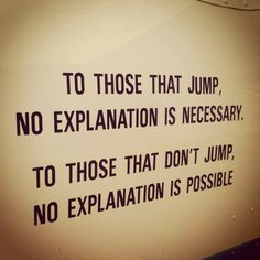 Jump and you'll be forever hooked ! ~ LLP68
