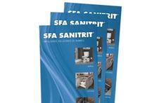 El nuevo #catálogo tarifa 2015 de SFA Sanitrit actualiza su oferta de bombas de evacuación para #sanitarios