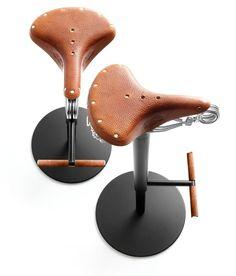 Original Design Bar Stool Bike By Enzo Berti Bross Italia Bicycle Seats