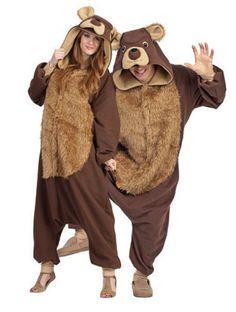 165e0e4057 Bailey The Bear Costume - fancydress.com Fancy Dress Onesie