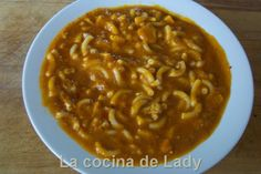 La Cocina de Lady: Guisado de Emperador y Gambas con Pasta