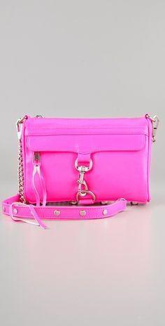 Rebecca Minkoff :: Love the bright pink!