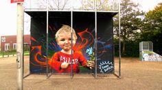 Wall paints, Muurschilderingen, Peintures Murales,Trompe-l'oeil, Graffiti, Murals, Street art.: Waddinxveen - Netherlands