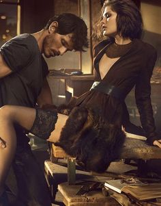 Ad Campaign: Donna Karan F/W Catherine McNeil & Andres Velencoso by Mikael Jansson Taurus Woman, Virgo Men, Catherine Mcneil, The Beauty Department, Sexy, Photo Couple, Love And Lust, Tumblr, Mario Testino